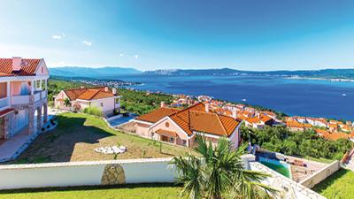Ferielejligheder i Kroatien