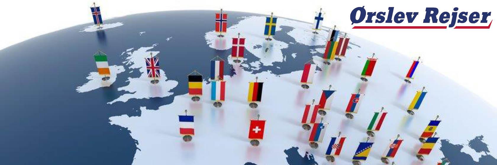 Kvalitetsrejser i Danmark og udlandet
